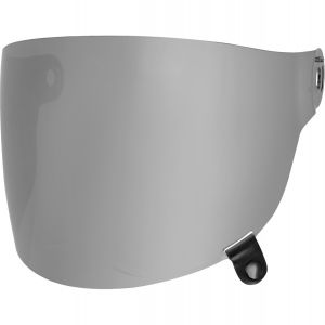 Bell Bullitt Flat Visor - Dark Silver iridium