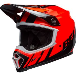 Bell MX-9 Mips Dash Gloss Orange / Black