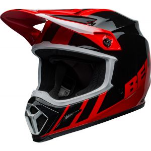 Bell MX-9 Mips Dash Red / Black