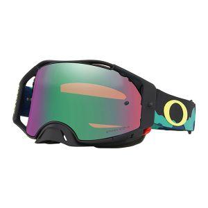 Oakley Airbrake Eli Tomac SS19.1 MX Goggle (Camo Army Blue) Prizm Jade Irdium Lens