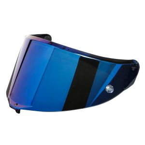 AGV Race 3 Anti-Scratch Visor - Blue Iridium