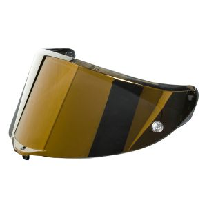AGV Race 3 Anti-Scratch Visor - Gold Iridium