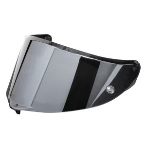 AGV Race 3 Anti-Scratch Visor - Silver Iridium