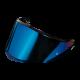 AGV K6 / GT4 Visor - Blue Iridium