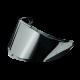 AGV K6 / GT4 Visor - Silver Iridium